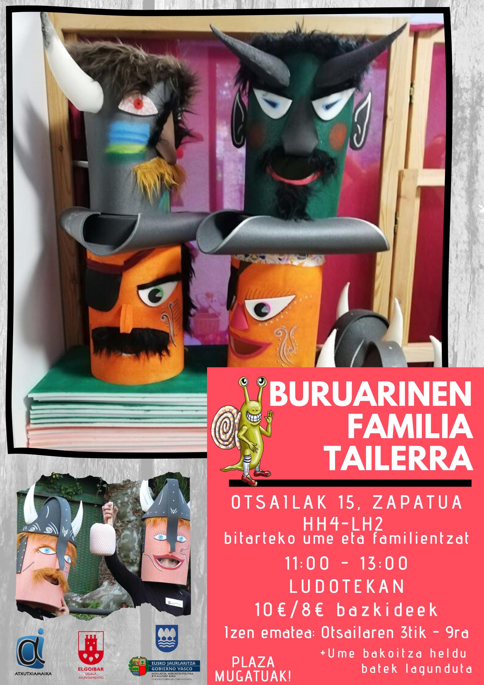 BURUARINEN FAMILIA TAILERRA