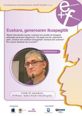 Euskara, generoaren ikuspegitik begiratuta
